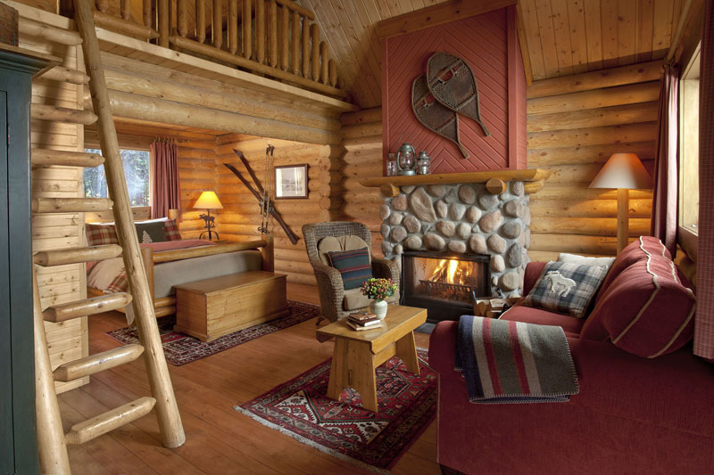 Rocky Mountain Accommodation Luxury Log Cabins