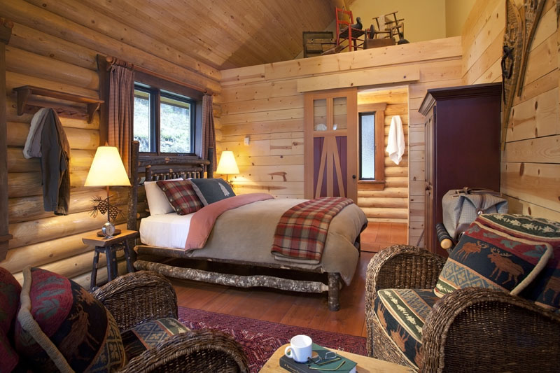 Rocky Mountain Accommodation In Luxury Log Cabins