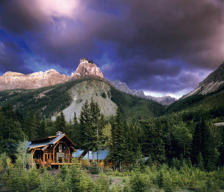 Canadian Rockies Lodges Gallery Cathedral Mountain