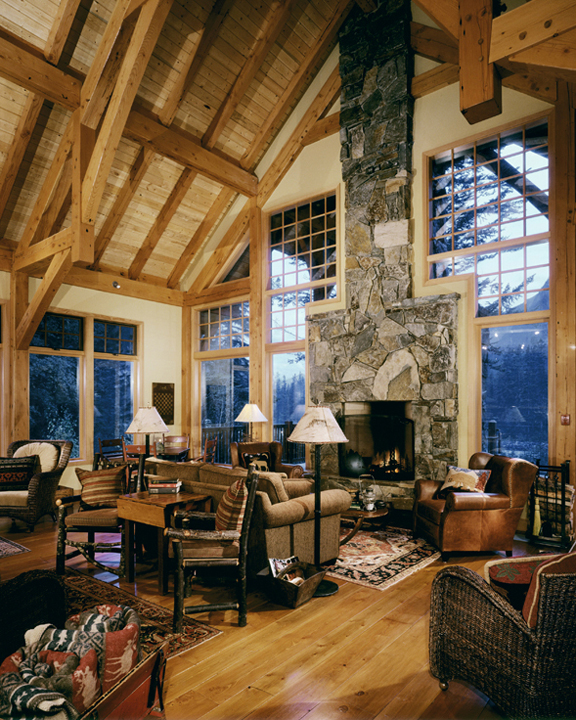 Luxury Mountain Homes: Canadian Rockies Lodges